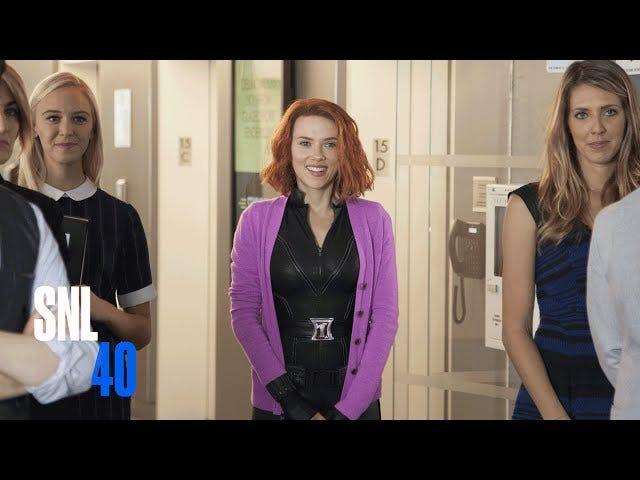 "SNL Hilariously Skewers Marvel's Idea Of ""A Girl Superhero Movie"""