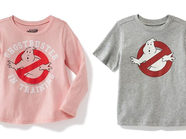 To Old Navy, Toddler Boys Are Ghostbusters and Toddler Girls Are 'Ghostbusters In Training'