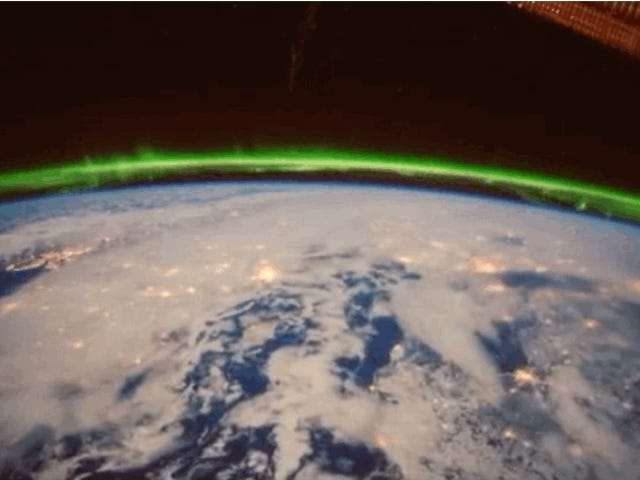 This Week's Aurora Was Even More Spectacular From Space