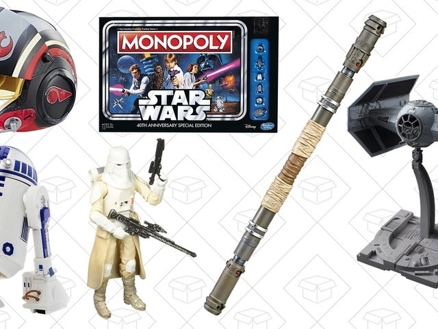 You Don't Need to Be Force-Sensitive To Get These Deals on Star Wars Toys and Game