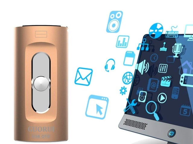 40% OFF GUORUI USB 3.0 Flash Drive 128GB for iPhone/Android/PC Series $20.34