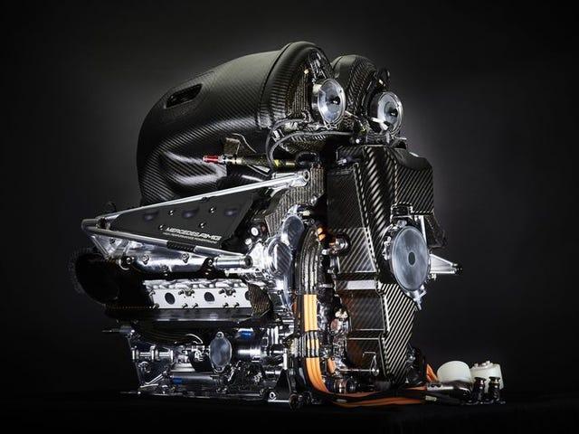 Est-ce que quelqu'un veut en savoir plus sur le développement d'un moteur F1?