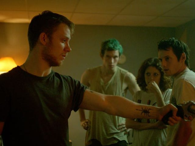 It's punks versus Nazis in <i>Green Room's </i>grisly, terrifying battle of the bands