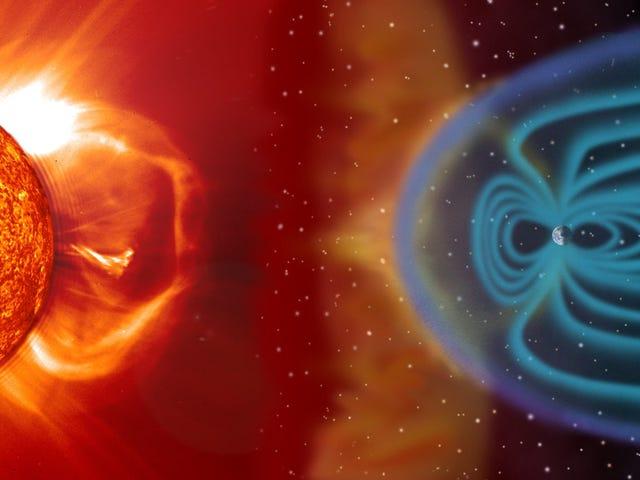 La evidencia muestra que el campo magnético de la Tierra se volcó rápidamente