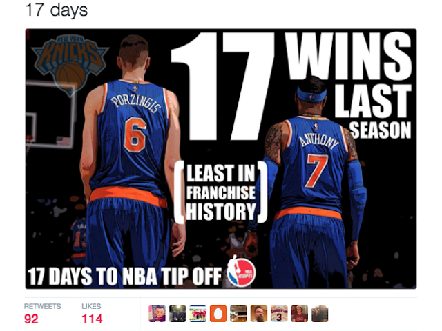 Ang Bastos na Tweet Tungkol sa Ang Knicks Ay Tunay na Maling Ngunit Tama sa Espirituwal