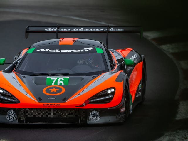McLaren's 720S GT3 Is Ready To Face The Stiff IMSA Competition