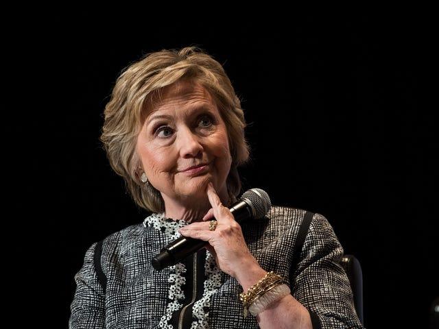 Hillary Clinton's MemoirWill Be a 'Cautionary Tale'