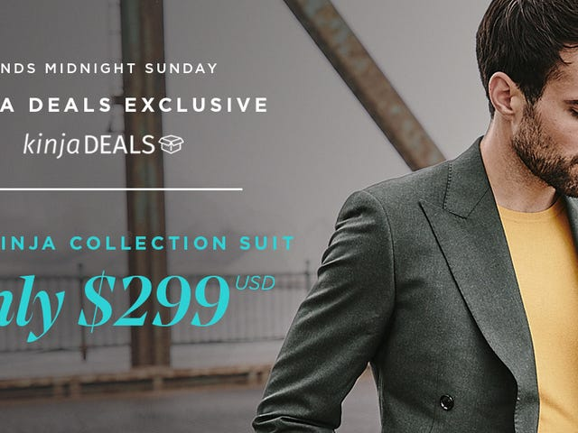Design Your Own Custom Suit For Just $299, With Free Shipping and Alterations - New Styles Added [Exclusive]