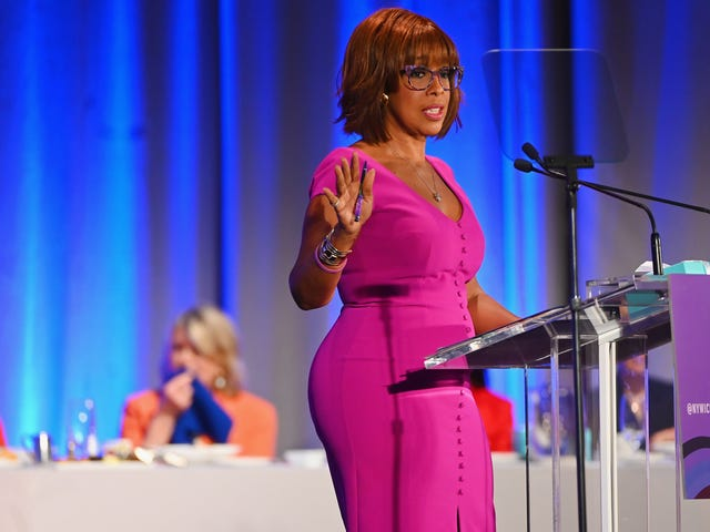 It's Gayle King's Job to Ask Questions