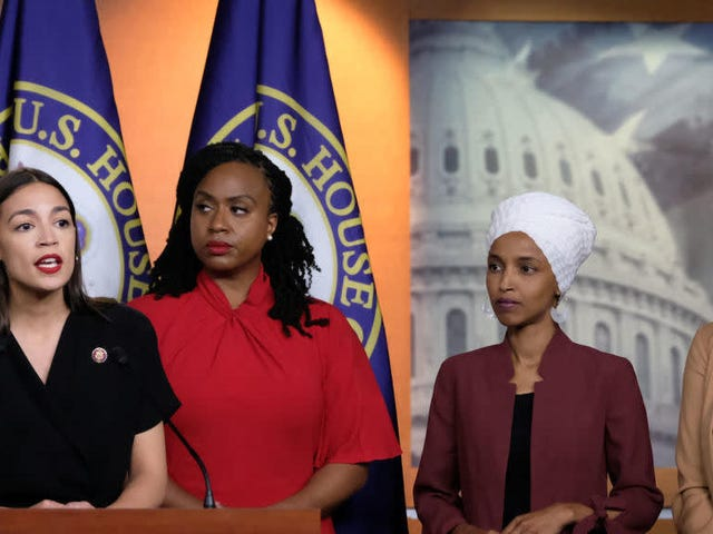 #TheSquad Claps Back at Trump's 'Go Back' to Your Own Country Comments, Saying They Won't Take the Bait
