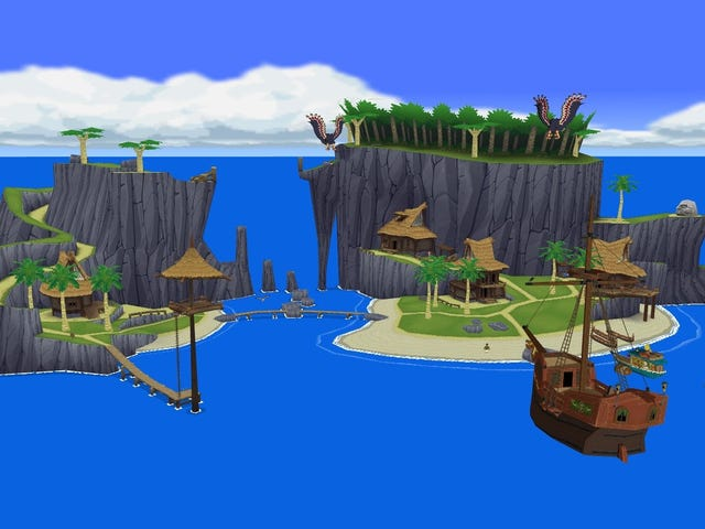 Attendez, il y a un village <i>Wind Waker</i> dans le <i>Breath Of The Wild</i> ?