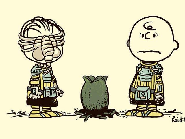 Du är i en skräckfilm, Charlie Brown!