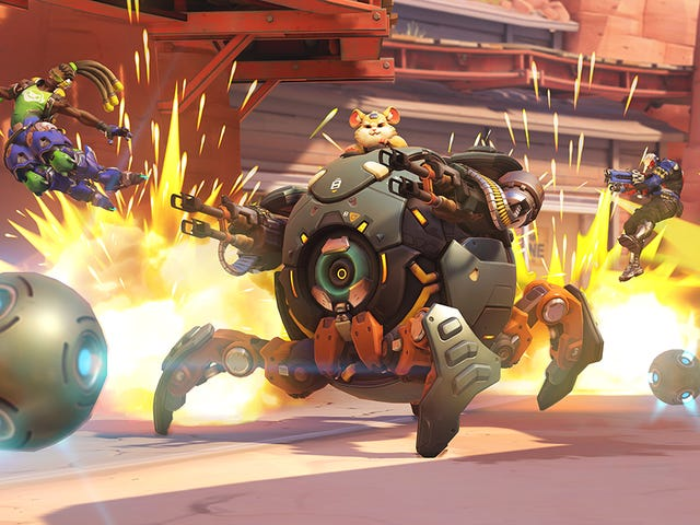 Overwatch Probably Won't Get A Hero Wackier Than Wrecking Ball