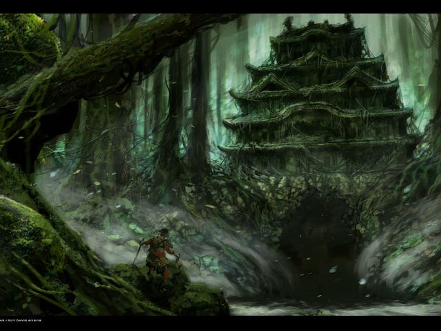 This Crazy Concept Art Is for a Fantasy Samurai Movie Made With Puppets
