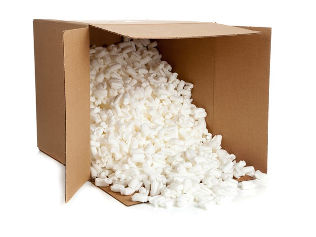 Researchers Turn Packing Peanuts Into Rechargeable Batteries