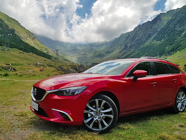 How I Conquered The Greatest Road In The World In Mazda's Diesel Manual Wagon
