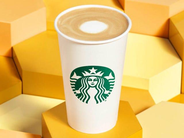 The Starbucks Oatmilk Honey Latte will make you feel like a grown-up