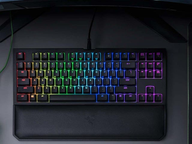 Razer's Space-Saving, Tenkeyless Mechanical Gaming Keyboard Is Down To Its Best Price