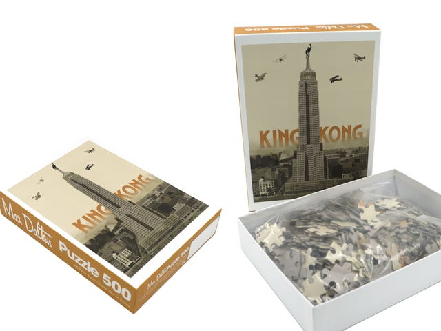 A King Kong Jigsaw Puzzle Is Just One of the Cool Things Artist Max Dalton Is Bringing to NYC