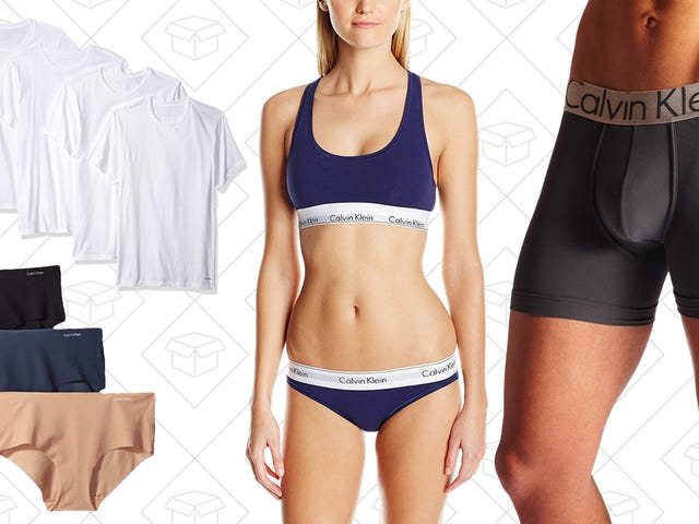 Amazon Is Marking Down A Ton of Calvin Klein Underwear and More, Today Only