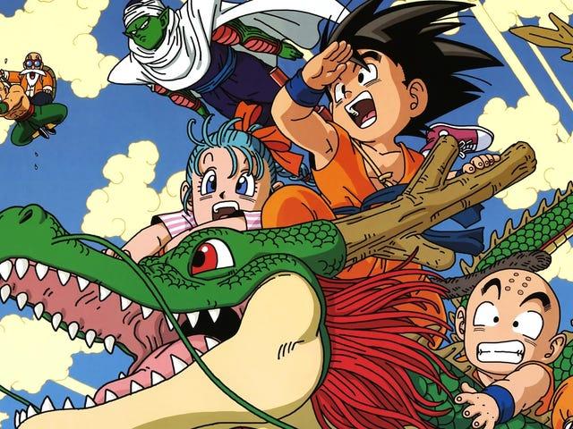 Η μεγαλοφυία της μπάλας δράκων Manga
