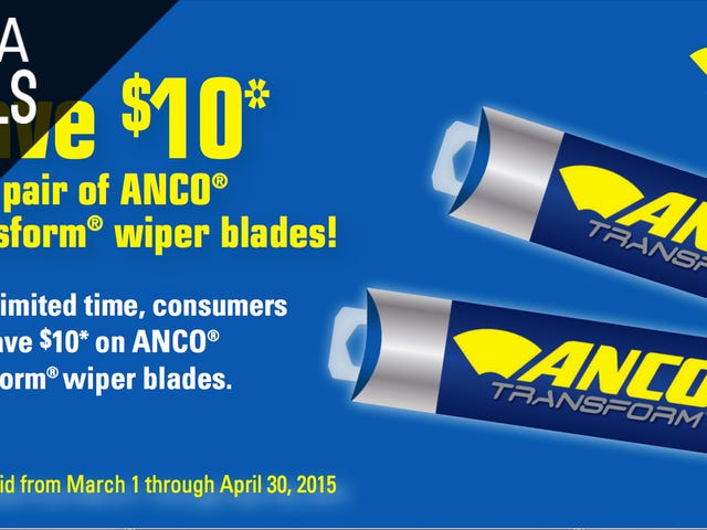 Here's a Good Wiper Blade Discount With The Potential To Be Great
