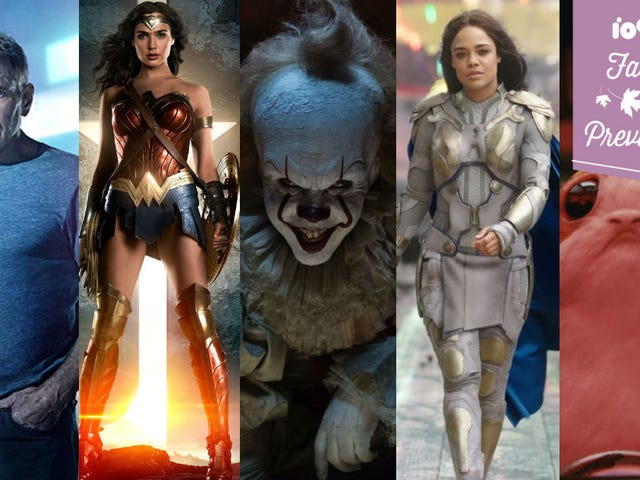 Fall Movie Guide: 35 Superhero, Scifi, and Fantasy Movies to Look Out For
