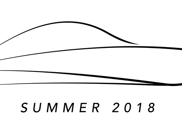 Incredibly vague silhouette of a car I designed and will be building and racing this summer