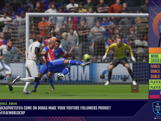 Virtual Ronaldo Goal Is Impressive, Even By Video Game Standards