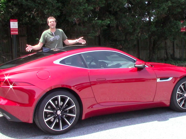 The Manual V6 Jaguar F-Type Is Way Better Than The Automatic V8