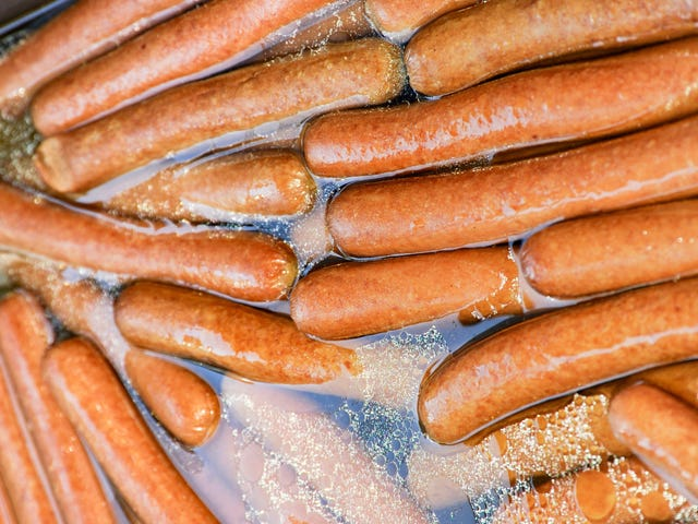 Performance artist sold hot dog water for $38 at a street festival