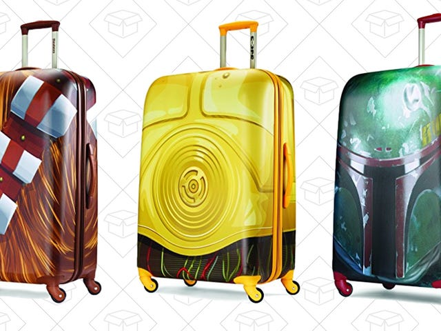 Travel To a Galaxy Far, Far Away With Discounted Star WarsSpinner Luggage