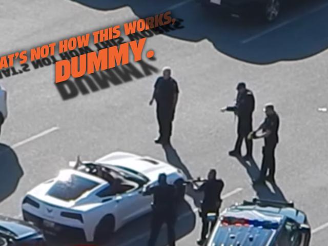 Canadian Guy Піднімається у Хтось Інакше Corvette Конвертований та Намагається Щоб Затвердити Це як Його