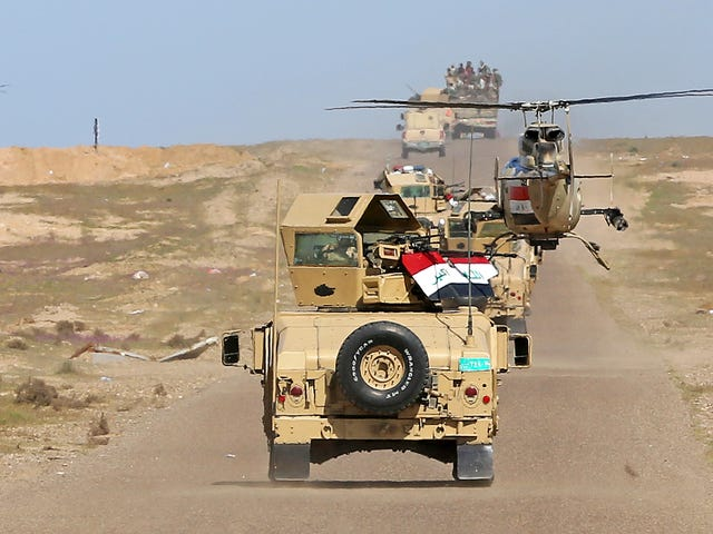 The Operation To Retake Mosul Has Started, But Don't Expect Victory Anytime Soon