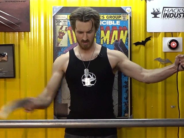 Guy Builds Electrified Wolverine Claws Because Sharpened Steel Isn't Dangerous Enough