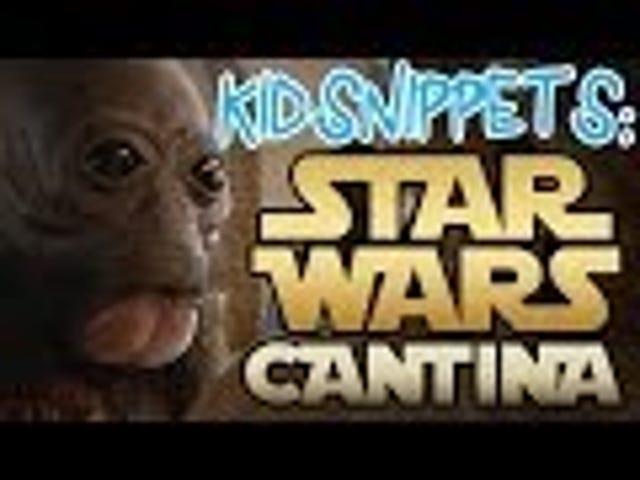 Adorable Kid Interpretations of Star Wars' Cantina Scene