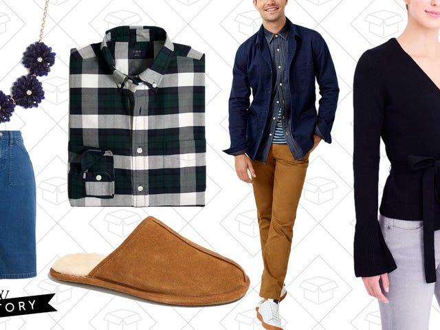 Grab 35-50% Off Basically Everything (Including Clearance) at J.Crew Factory