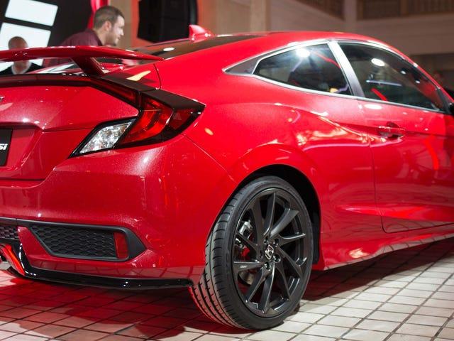 Nowa Honda Civic Si wygląda jak Originger Bringer Zabawa i Szczęście