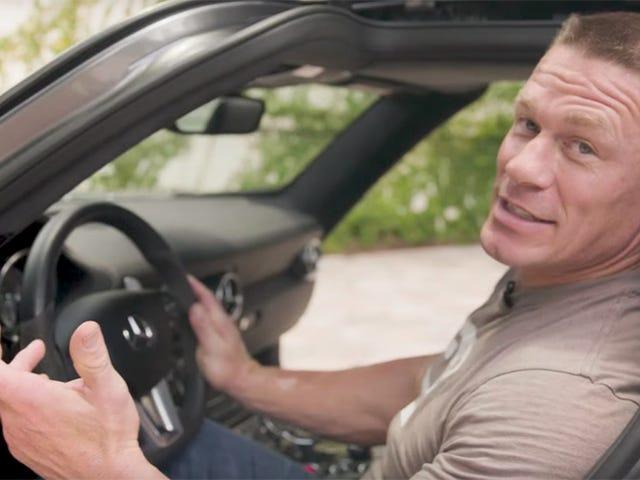 Итак, Джон Сина - это автомобиль Vlogger