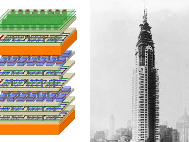 What the Computer Chip of the Future Shares With Skyscrapers of 100 Years Ago