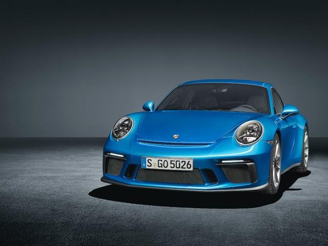 Porsche Gave Us A Manual GT3 Because They Wanted A Cut Of That 911 R Resale Cash, Duh