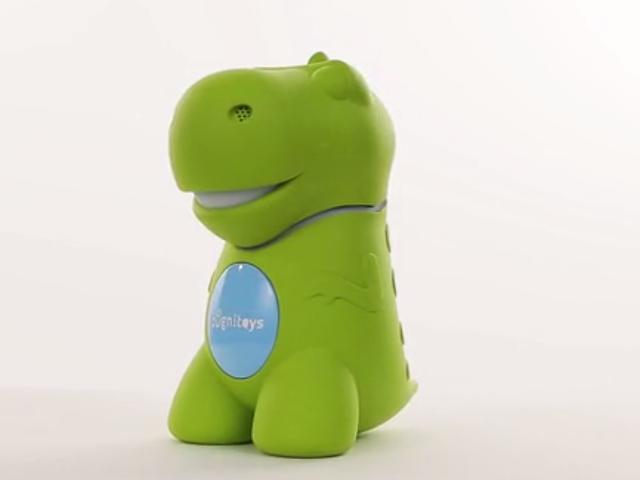 El cerebro de este dinosaurio de juguete es un potente superordenador