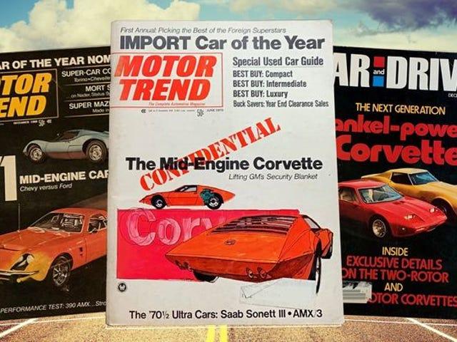 Πώς το Mid-Engine Chevrolet Corvette έγινε ο μεγαλύτερος αστικός μύθος της αυτοκινητοβιομηχανίας