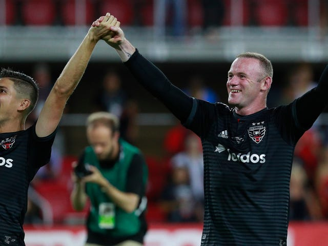 Old Man Wayne Rooney Has Officially Dragged D.C. United Into The Playoffs