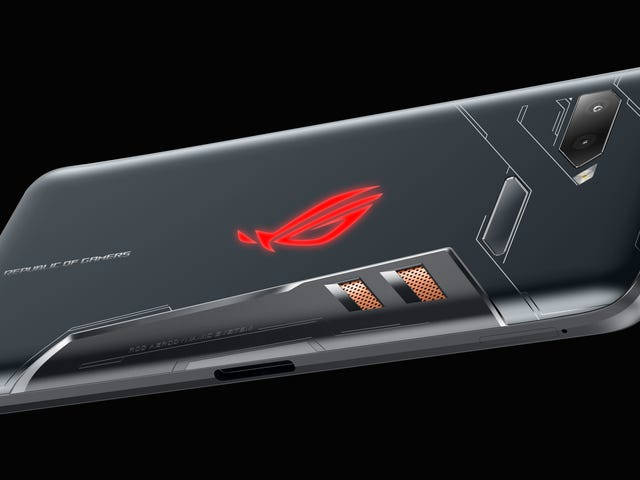 Asus' ROG Phone Looks Like the Wildest Gaming Phone Yet