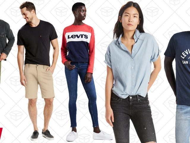 Get All The Levi's You Desire With This 30% Off Sale