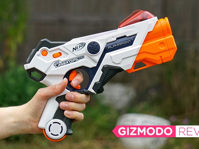 Nerf's New Laser Tag Blasters Ditched the Darts, and I Don't Miss Them