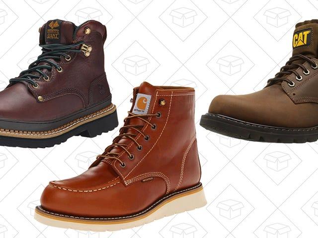 Économisez vos pieds avec la vente d'un jour d'Amazon sur des bottes de travail
