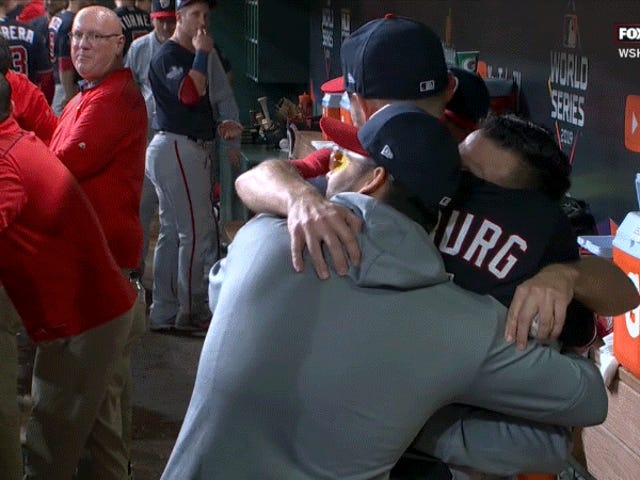 Hug Stephen Strasburg More. Continue Hugging Him.