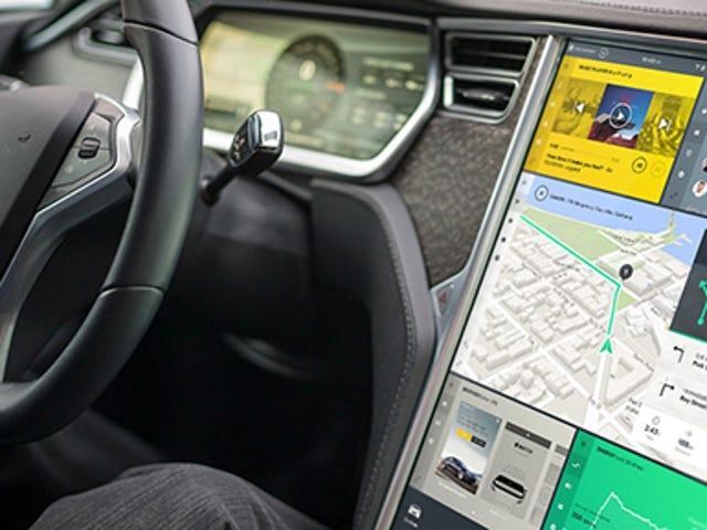 Tesla Model S đang được thiết kế lại giao diện người dùng và nó sẽ trông như thế này